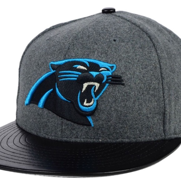 44157f6a Men's Carolina panthers fitted hat